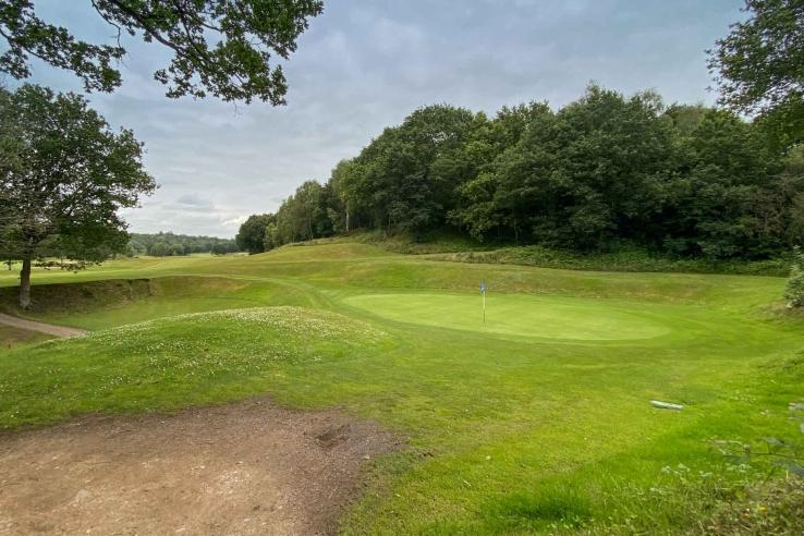 Punchbowl Green Alister MacKenzie Reddish Vale Golf Club