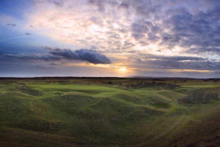The 7th hole at Rye Golf Club.