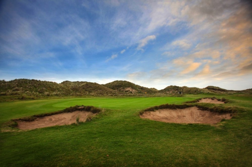 The links at Aberdovey Golf Club.