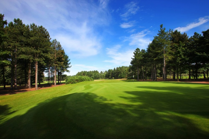 The Fidra, a private golf courses at Archerfield Links.
