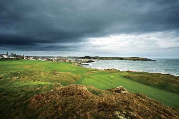 The rugged links at Ardglass Golf Club.