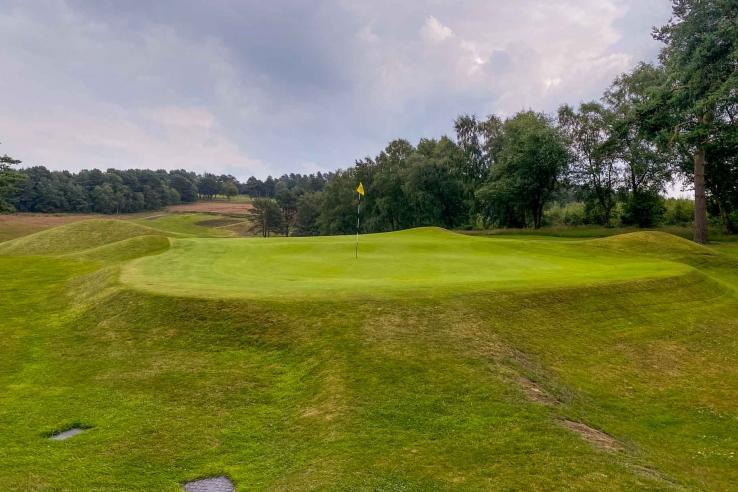 Herbert Fowlers Template Green Complex at Beau Desert Golf Club