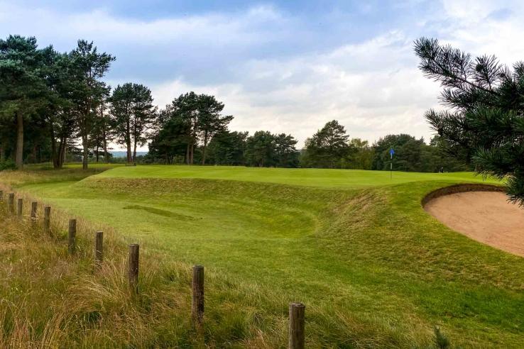 Push Up Green Complex Beau Desert Golf Club Herbert Fowler