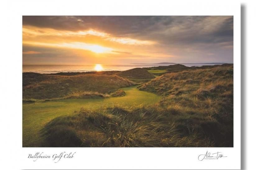 A photograhh by Adam Toth of Ballybunion Golf Club.