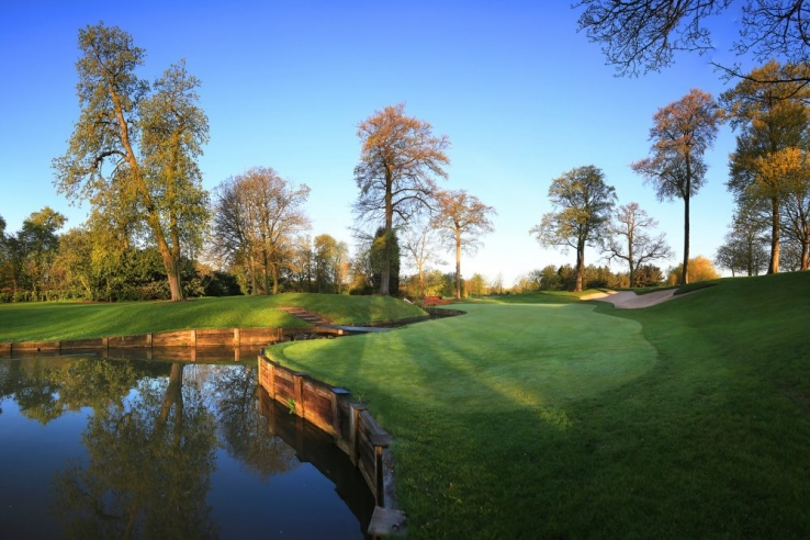 The famous 10th green at The Belfry.