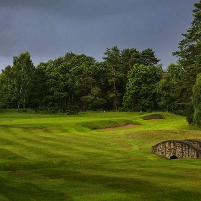 The Rosemont Course at Blairgowrie Golf Club.