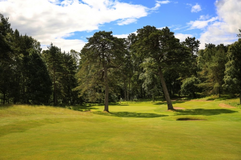 The Wee Course at Blairgowrie Golf Club.