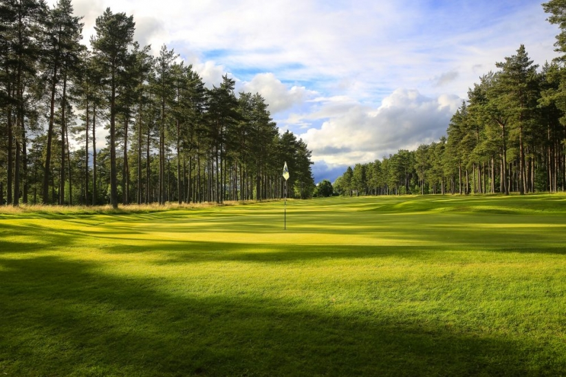 The Lansdowne Course at Blairgowrie Golf Club.