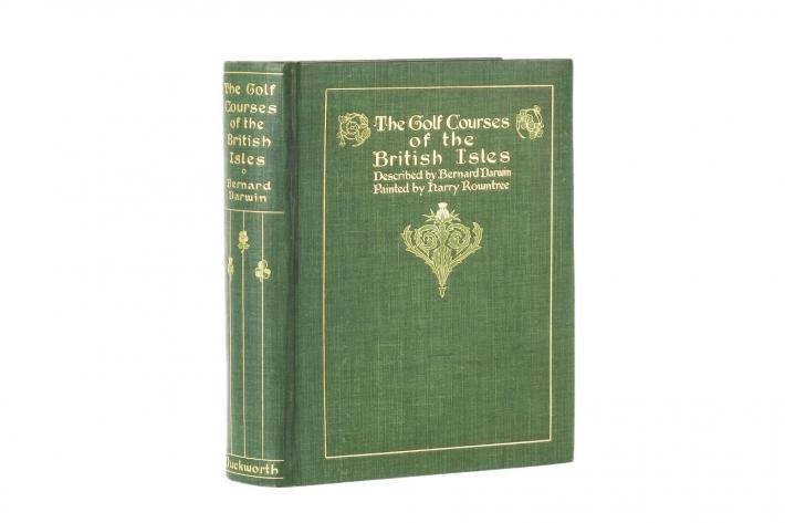 Bernard Darwin Harry Rountree Golf Courses of the British Isles