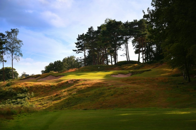 The 6th hole at Broadstone Golf Club.