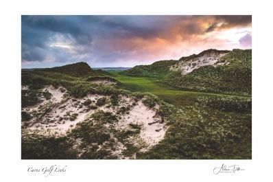 A photograph of Carne Golf Links by Adam Toth.