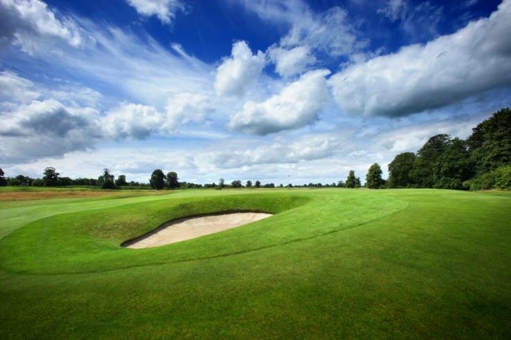The golf course at Carton House.