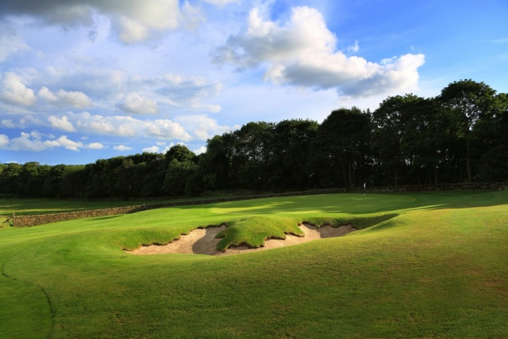 The 6th hole at Close House.