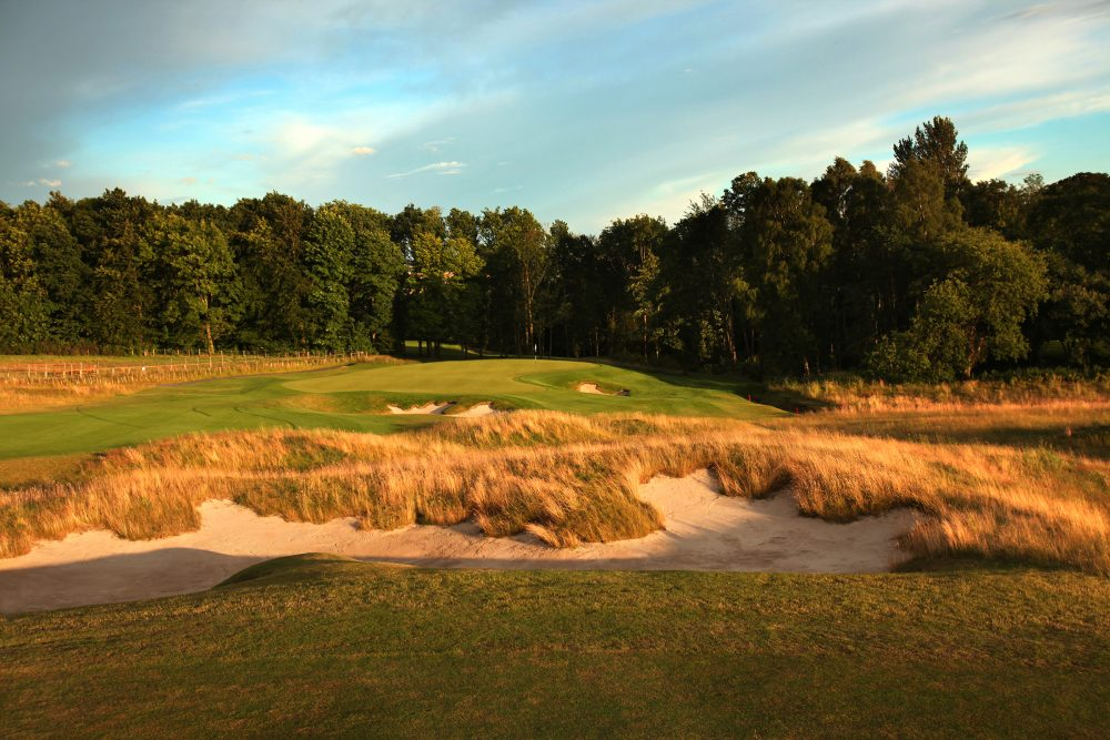 The 13th hole at Close House.