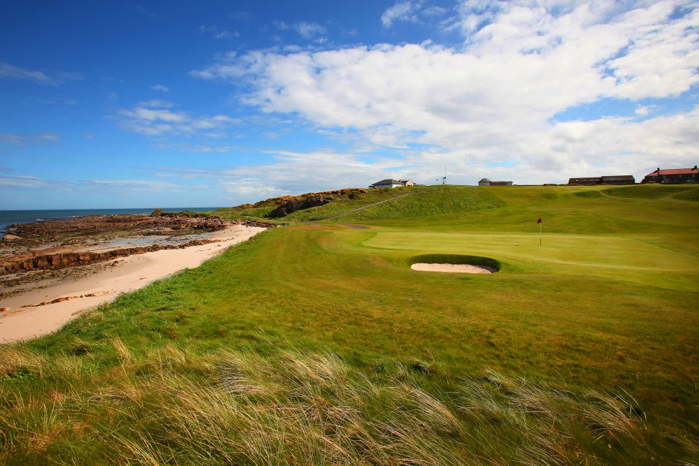The seaside links at Crail Golfing Society.