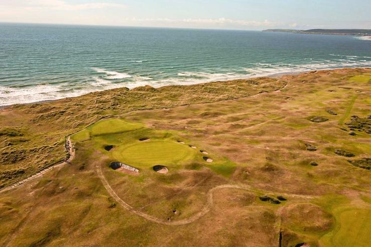 6th at Royal North Devon Golf Club.