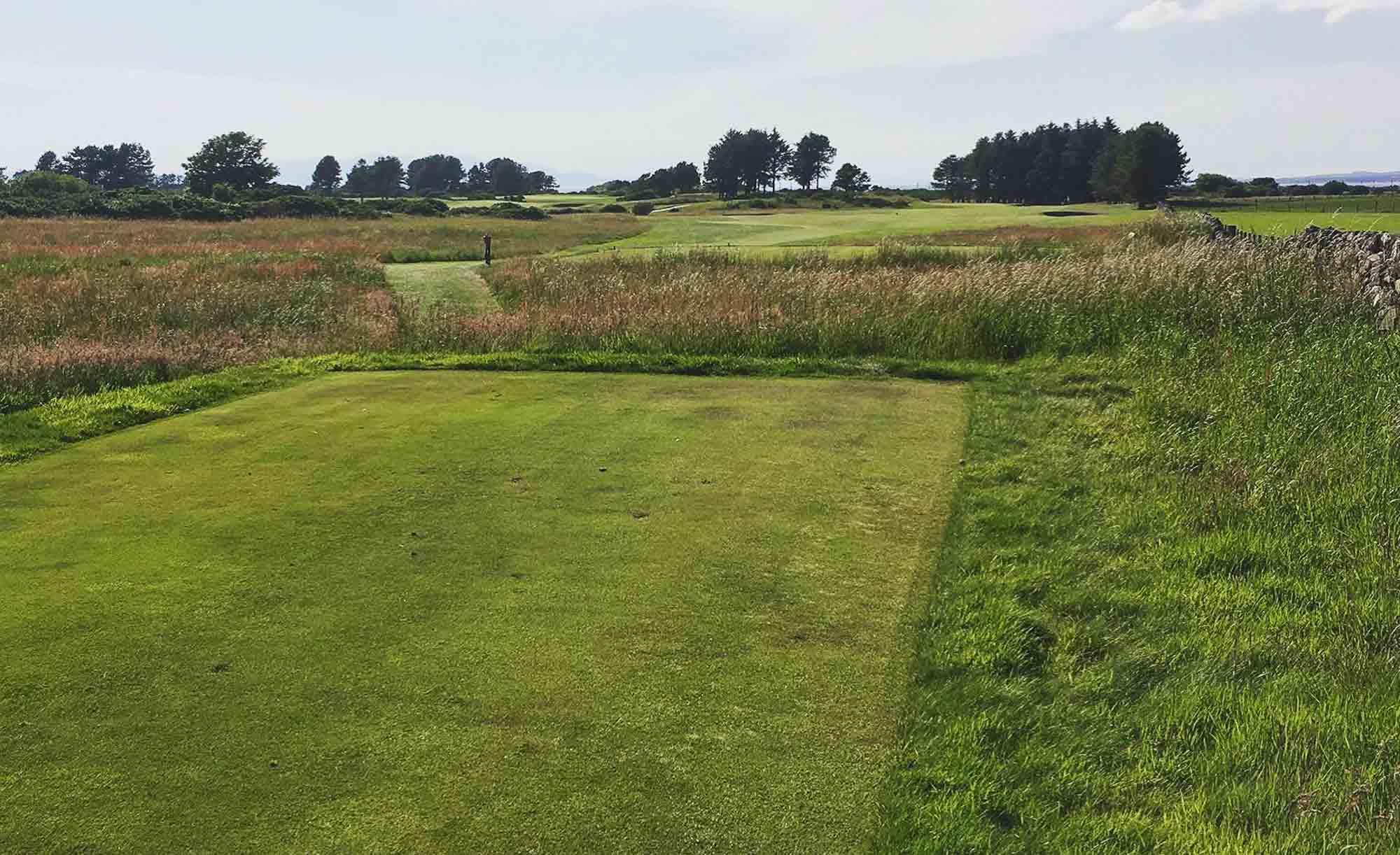 A photo of the Kilmarnock Barassie Golf Club in Ayrshire, Scotland.