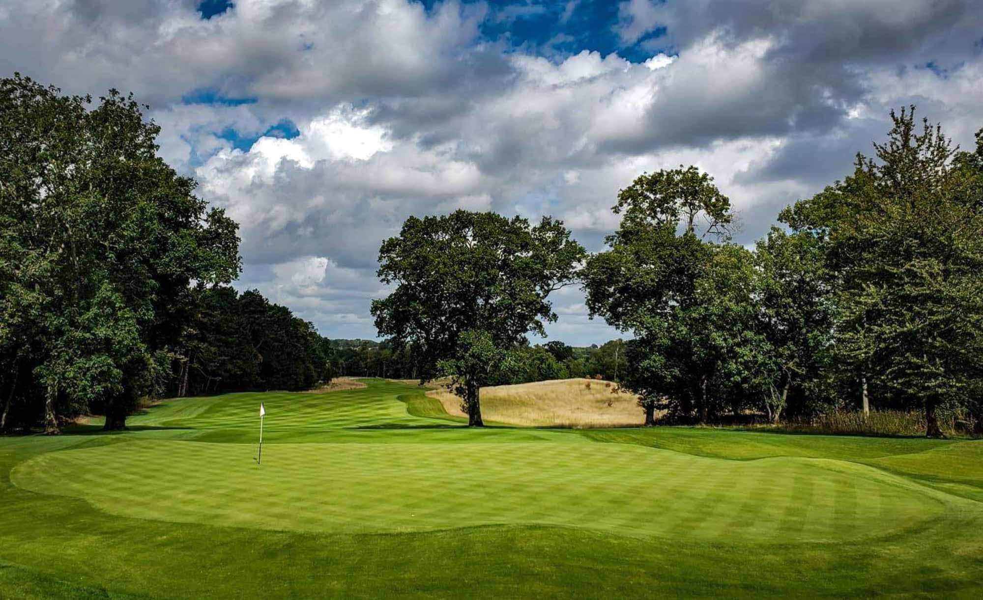 The 15th at Royal Norwich Golf Club.
