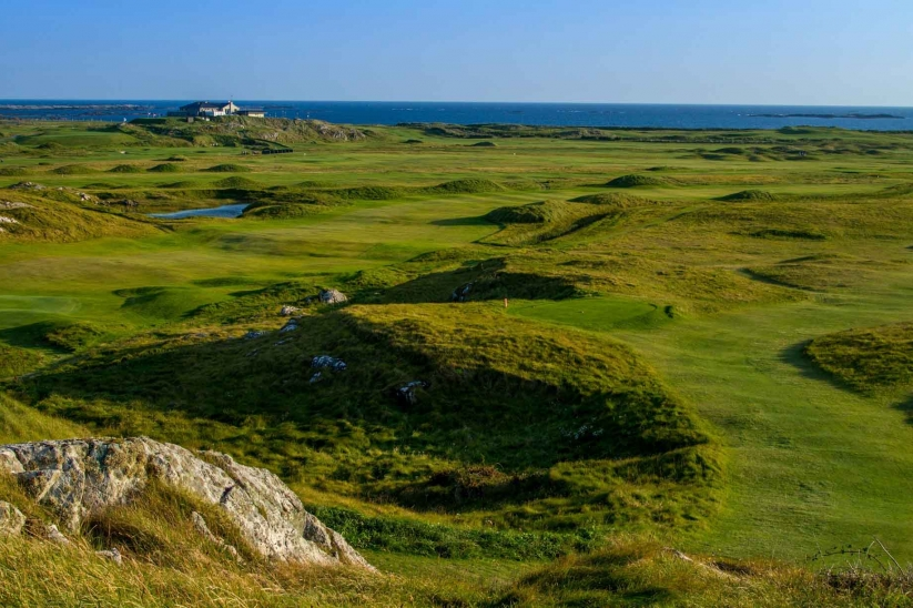 The rugged and pure golf of Connemara Championship Golf Links.