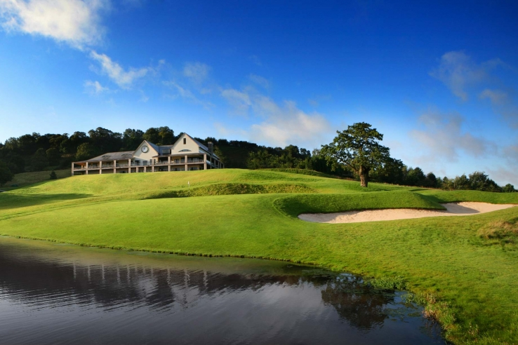 You are never far from water at Celtic Manor.