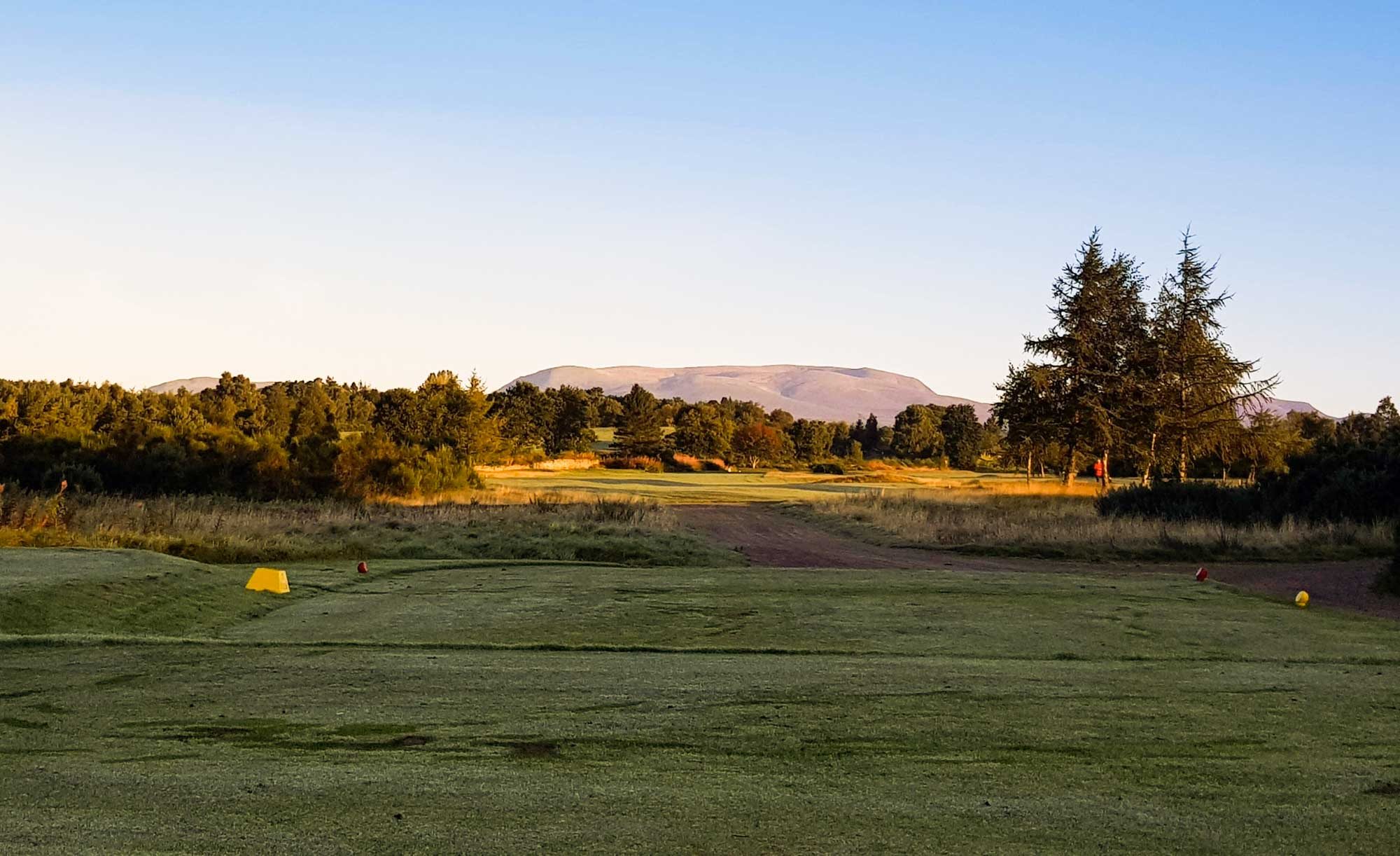 The heathland golf on offer at Muir of Ord Golf Club.