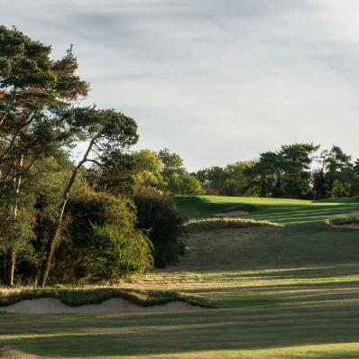 The Harry Colt designed Luffenham Heath Golf Club.