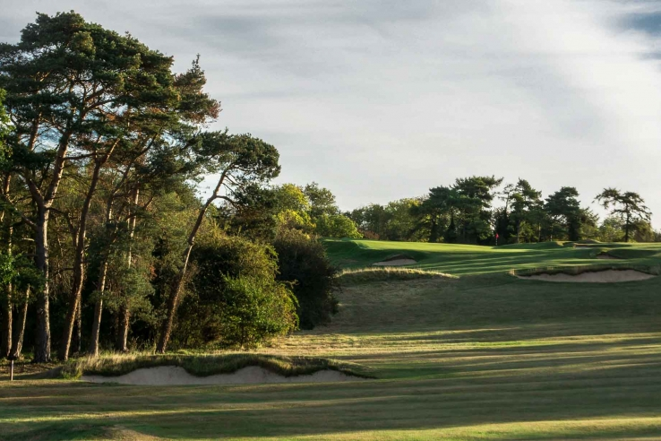 The Harry Colt designed Luffenham Heath Golf Club.