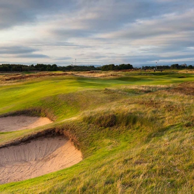 The dunes and links land at Glasgow Golf Club.