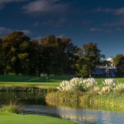 The inland parkland golf course Mount Juliet Estate.