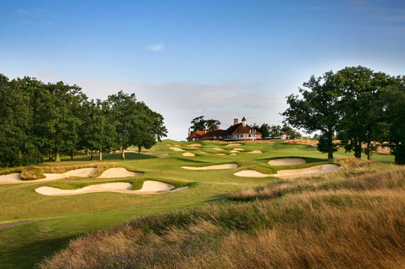 The famous bunkers at Chart Hills Golf Club.