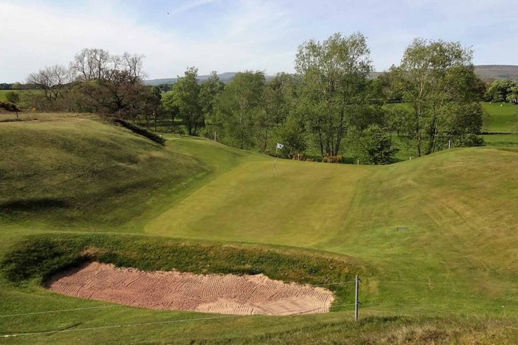 A photo of The Dell at Appleby Golf Club in Cumbria, England.