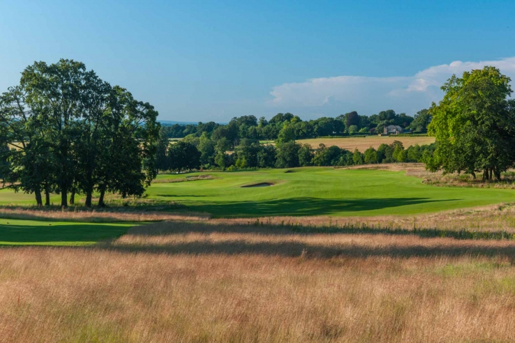A rare photo of Beaverbrook Golf Course in Surrey, England.