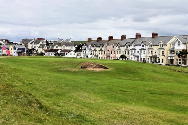 Bude Golf Club is a Tom Dunn links in what feels like the middle of town.