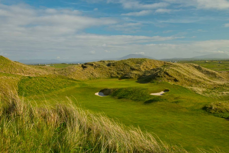 The best nine hole course in Ireland can be found at Carne Golf Links.