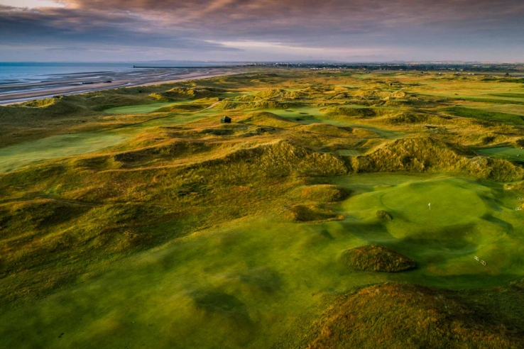 The links at County Louth Golf Club.