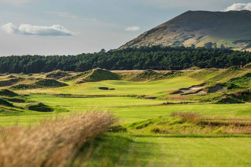 The scenery at Dumbarnie Golf Links gives it a sense of place.