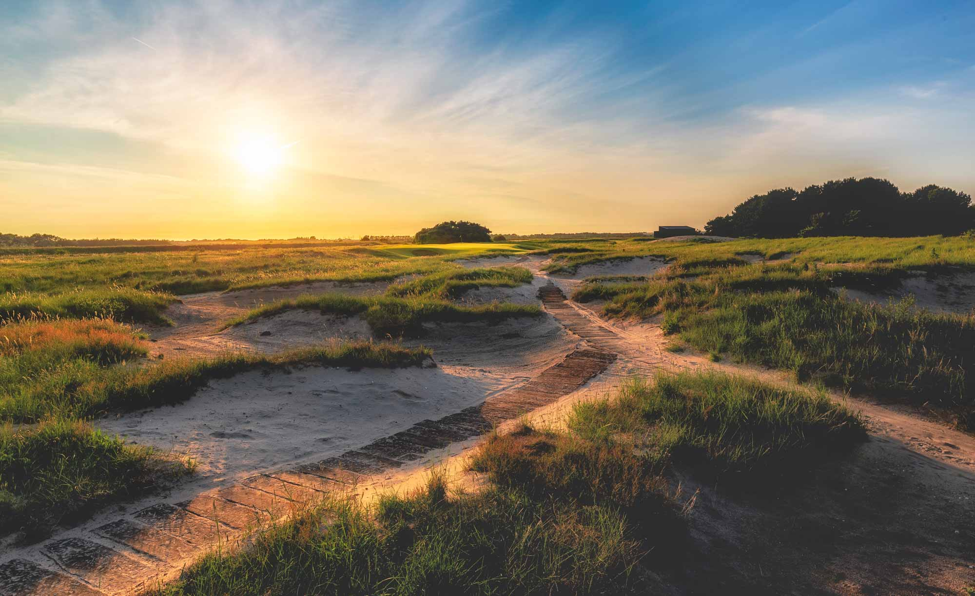 The new and improved par 3 on the Dunes at Princes Golf Club.
