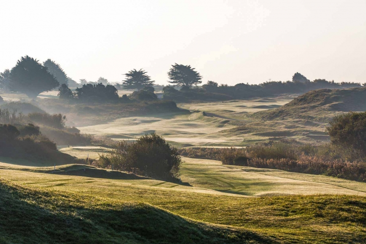 The amazing routing on display at St Enodoc Golf Club.