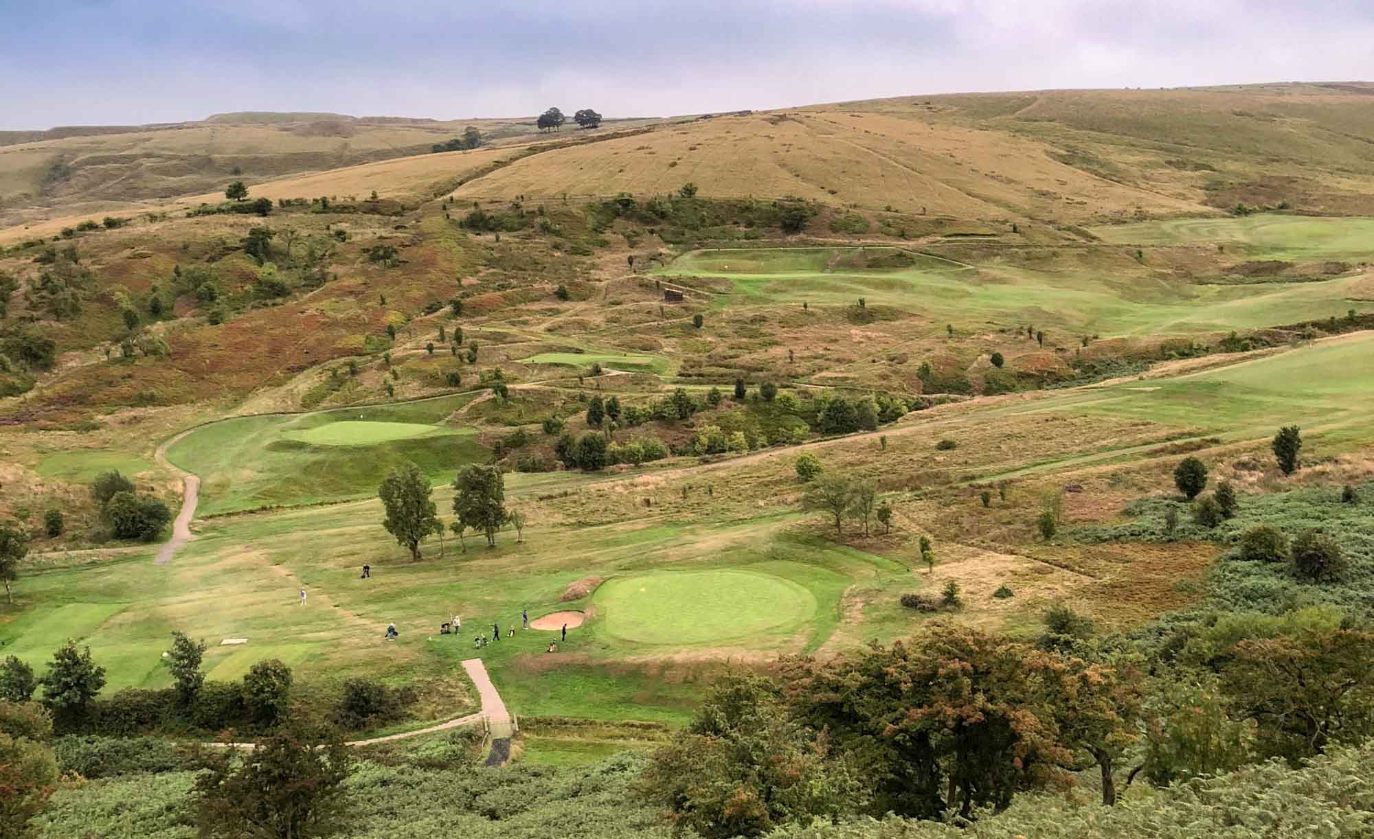 The rugged golf course at Halifax Golf Club.
