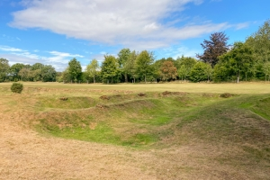 The Wille Park Jr pots at Huntercombe Golf Club.