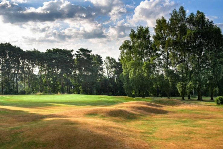 The incredible humps and hollows of Northamptonshire County Golf Club.