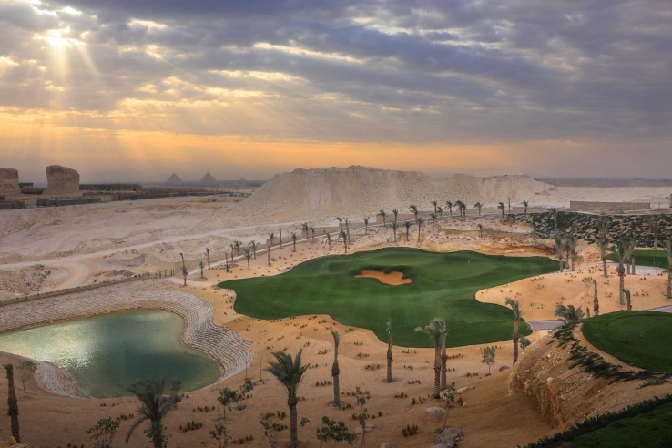 The new Giza Golf Course designed by Tim Lobb.
