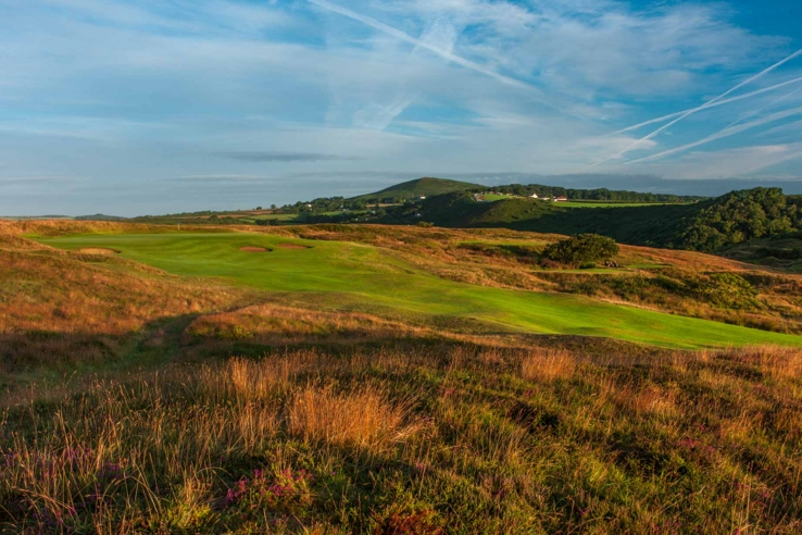 The pure and authentic links at Pennard Golf Club.