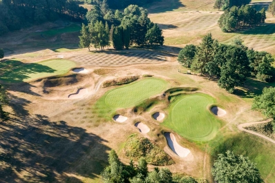 The efficiency of Prestbury Golf Club is a golf architecture lesson.