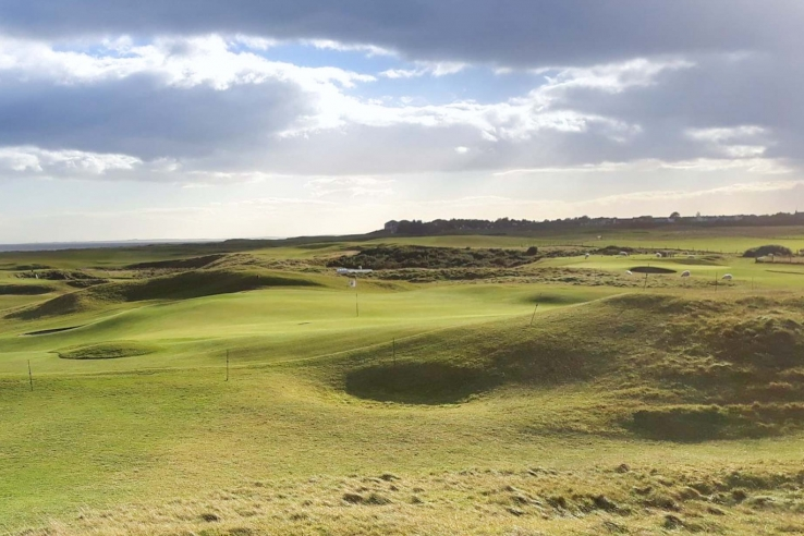 The links at Royal Aberdeen Golf Club.