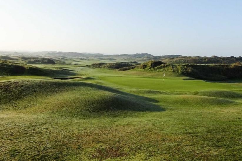 The dunes at Saunton Golf Club.