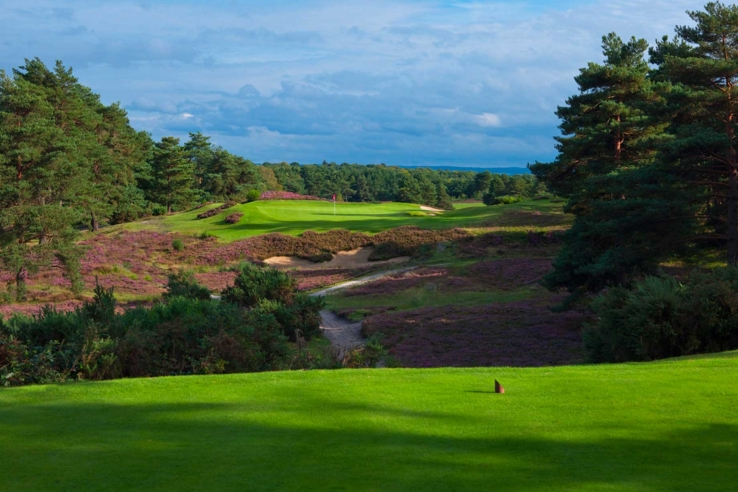 The beautiful Sunningdale Golf Club New Course.