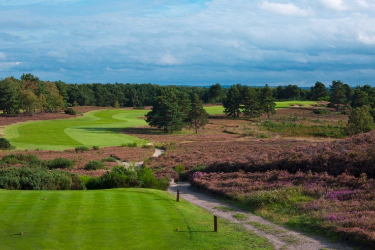 The teeing ground at Sunningdale Golf Club New Course.