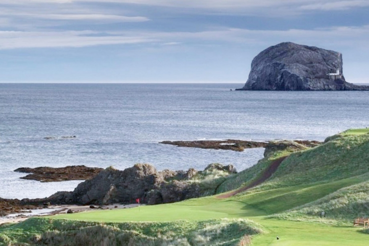A view of the fife from Glen Golf Club East Links.