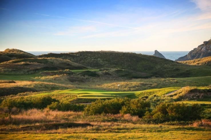 The Seventh Hole at Trevose Golf Club.